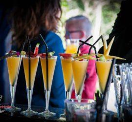 """Cocktail à base de Gin pour un mariage a la salle """"c'est ici"""" à Saint Nazaire - Notre équipe à votre service pour organiser vos soirée professionnelles ou familliales - Prestacocktails - Barman à domicile - Nantes - Evénementiel - Organisation de soirée"""